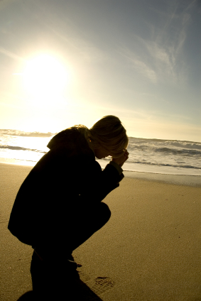 Beach prayer